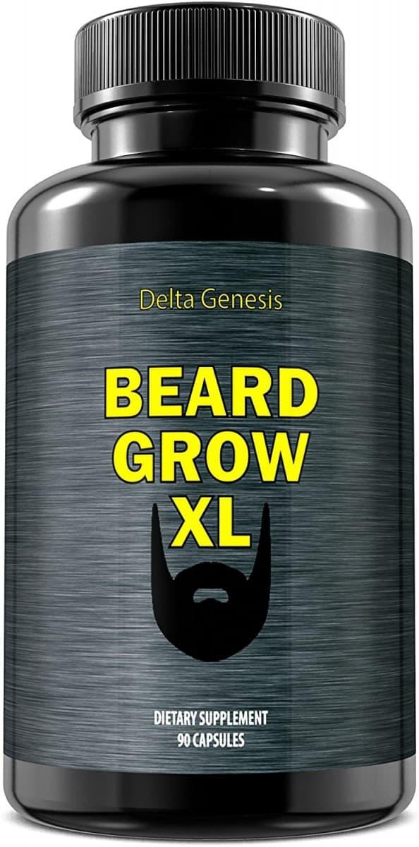 beard grow xl supplements