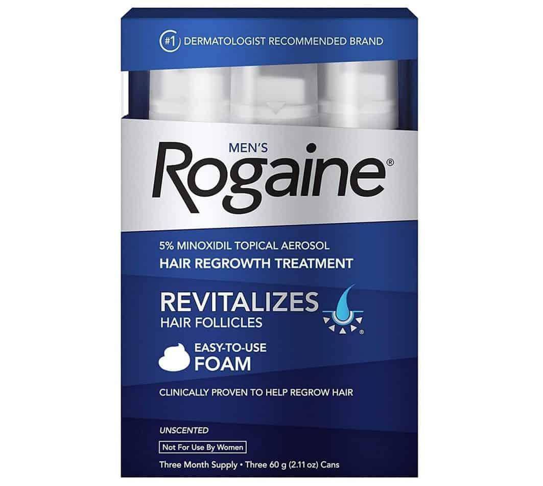 rogaine hair growth foam