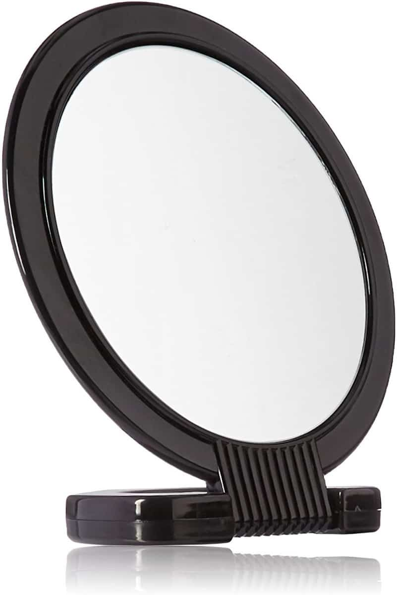 burmax soft n style 2-sided mirror with handle