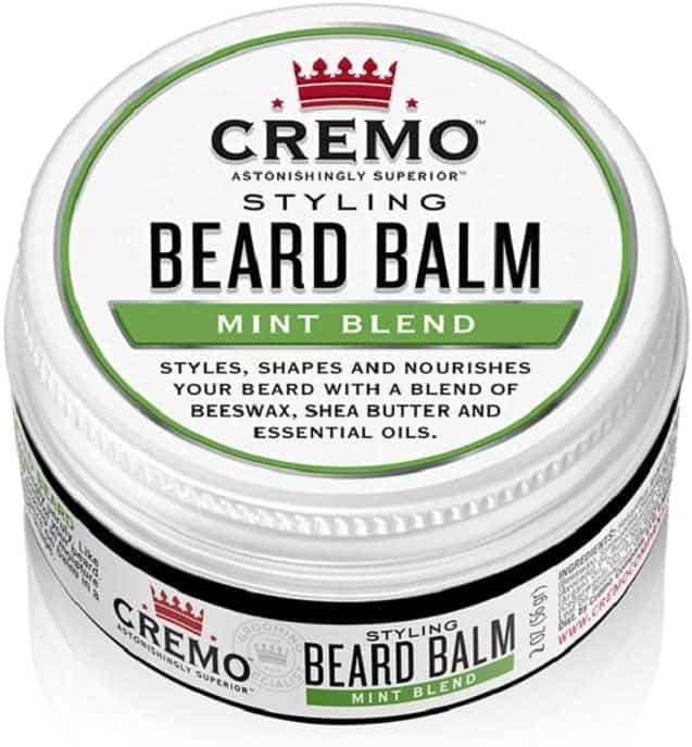 cremo mint blend styling beard balm
