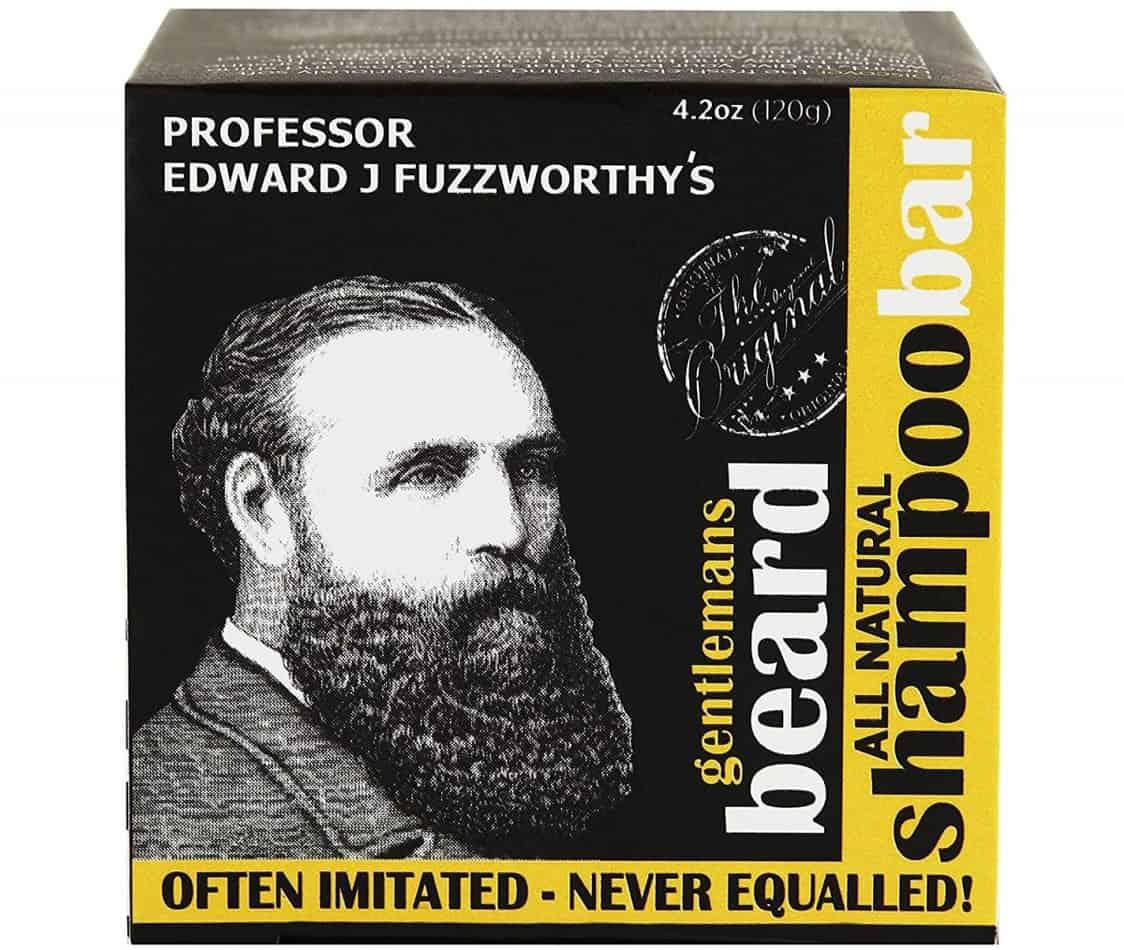 professor fuzzworthys beard shampoo with all natural oils from tasmania australia