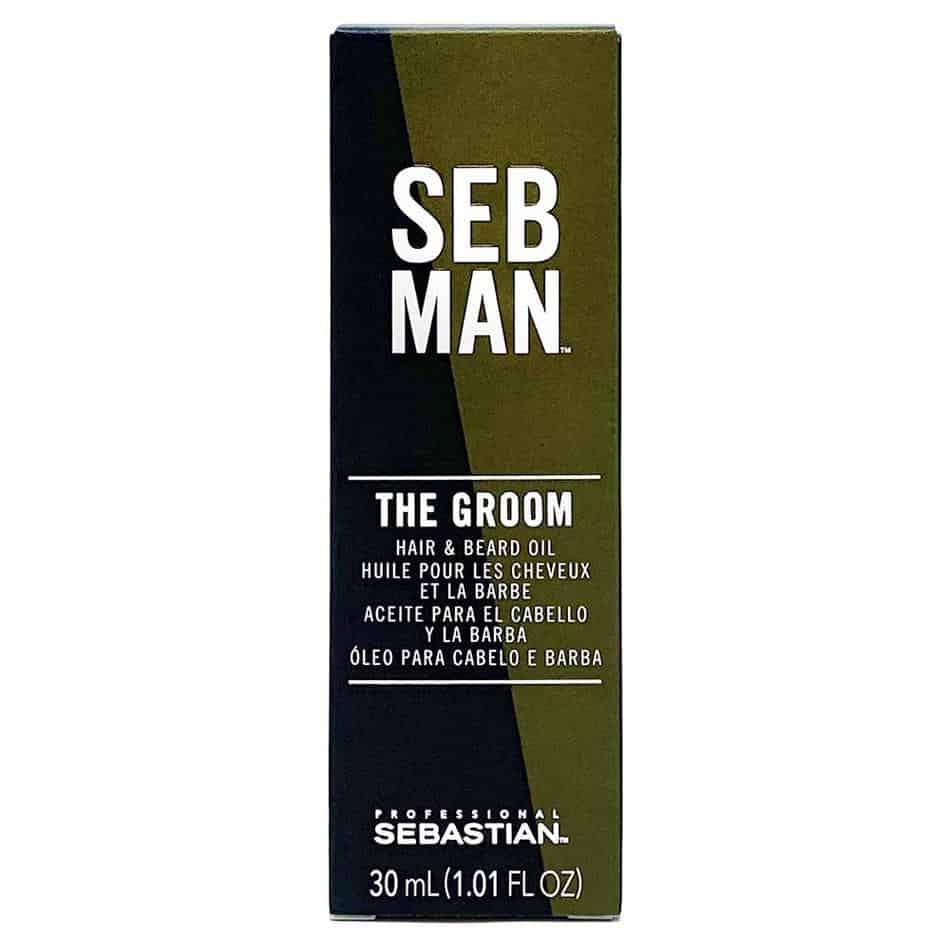 sebastian seb man the groom hair & beard oil