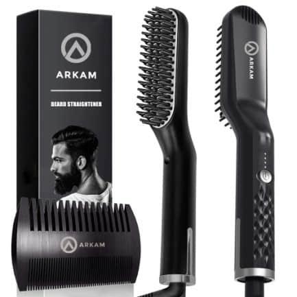 Arkam Premium Beard Straightener for Men